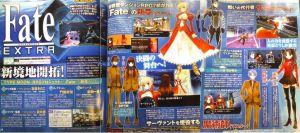 Fate/EXTRA - Nuevo de TYPE-MOON